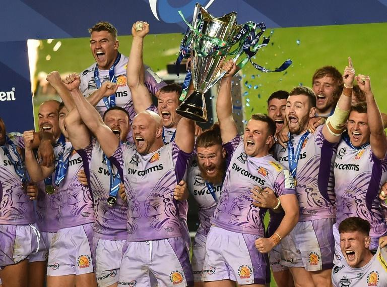 Exeter Chiefs won the European Champions Cup behind closed doors in October