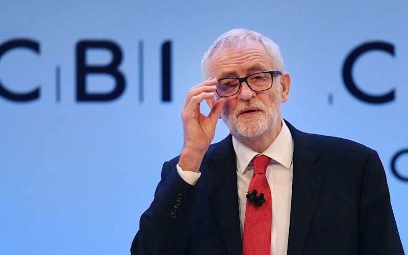 Mr Corbyn defended his record fighting racism - REX