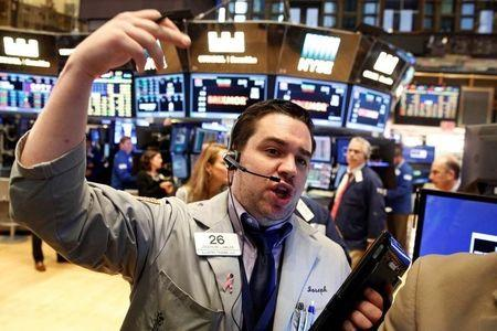 Wall Street opened higher on Monday.