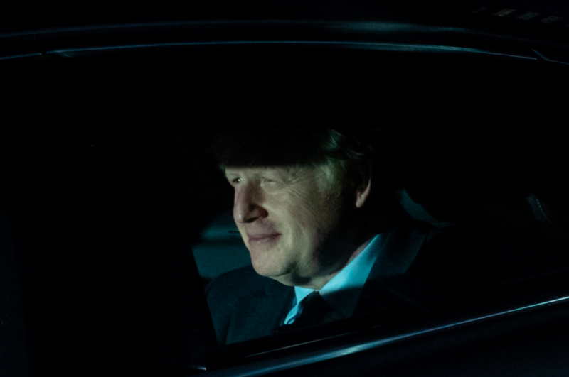 Boris Johnson suffered his first major defeat as PM on Tuesday night (SWNS)