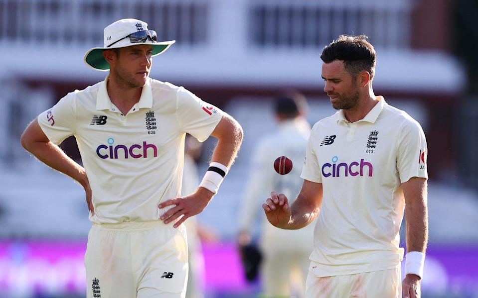 Stuart Broad and James Anderson - Getty
