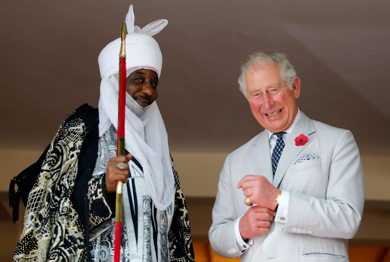 """<p>The Prince of Wales and Duchess of Cornwall <a rel=""""nofollow"""" href=""""https://www.townandcountrymag.com/society/tradition/a24513894/prince-charles-camilla-parker-bowles-royal-tour-gambia-ghana-nigeria/"""">have arrived in </a><a rel=""""nofollow"""" href=""""https://www.townandcountrymag.com/society/tradition/a24513894/prince-charles-camilla-parker-bowles-royal-tour-gambia-ghana-nigeria/"""">West Africa for their official tour of the region</a>. The royal couple will visit the Gambia, as well as Ghana, and Nigeria over the course of eight days. The trip comes at a significant time for Prince Charles, as he was voted in April as the successor to his mother as head of the Commonwealth. Read on for the best photos from Charles and Camilla's travels.</p>"""