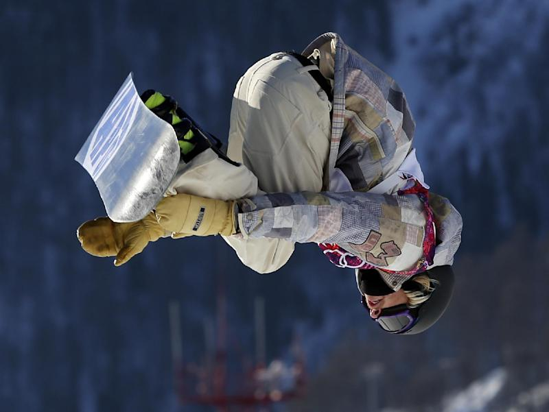 Kotsenburg uses a new trick to take 1st gold