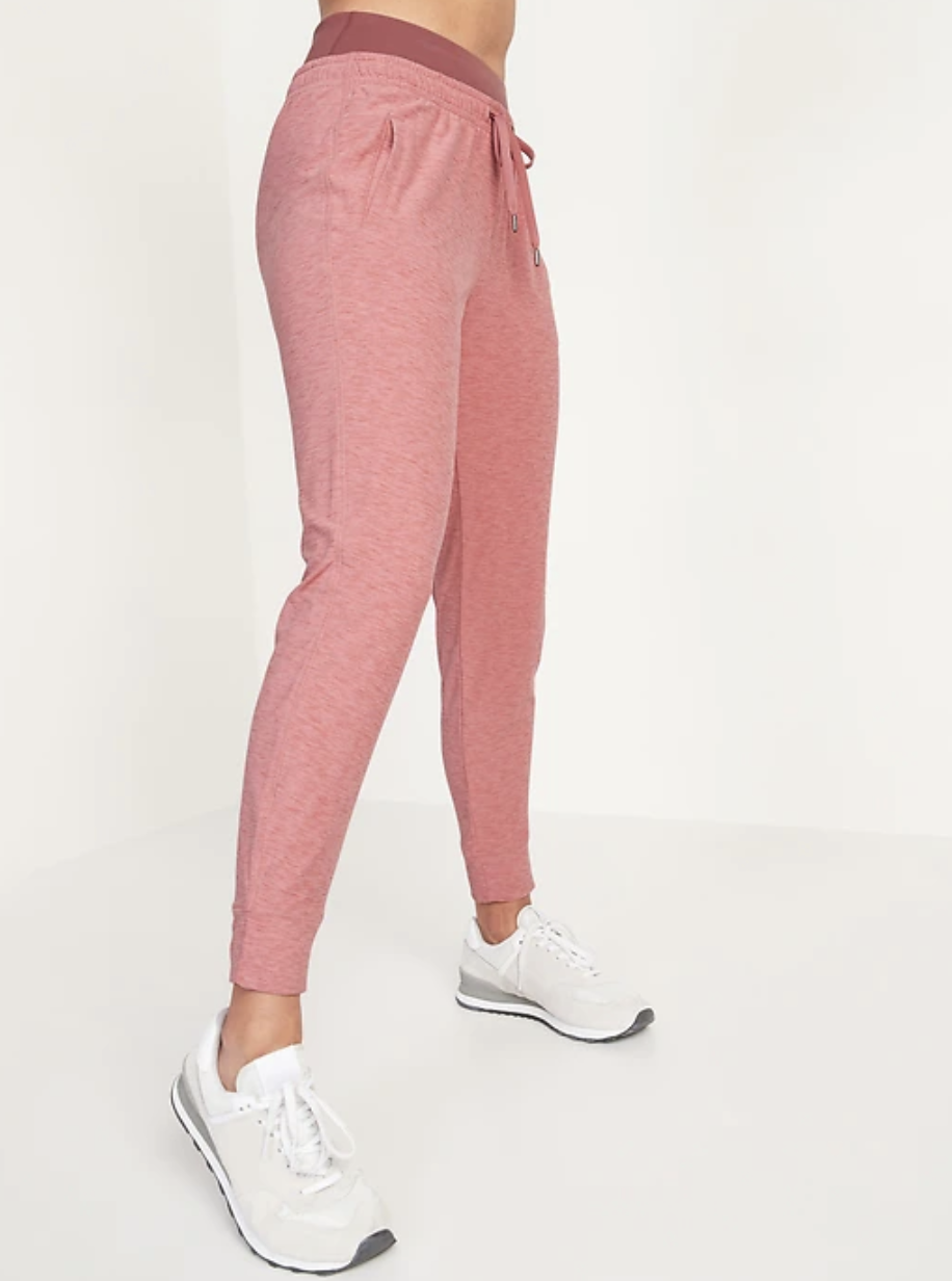 Mid-Rise Breathe ON Jogger Pants for Women- Old Navy
