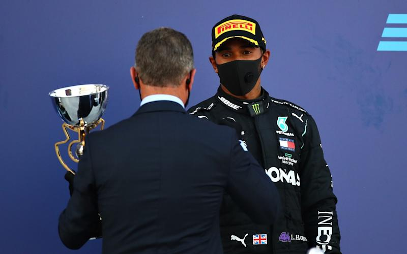 Lewis Hamilton had to make do with third place in Russia this weekend - Getty Images
