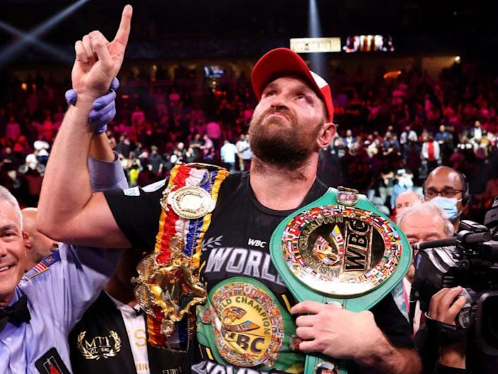Fury retained his WBC and Ring magazine titles with a second win over Wilder (Getty Images)