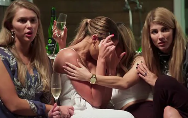 rebecca in tears after bryce kiss on MAFS
