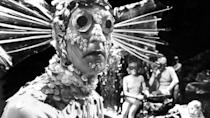 """<p>Only half of the four-parter still exists, but the story, set in the underwater city of Atlantis, was <a href=""""https://www.amazon.co.uk/Doctor-Who-Underwater-Menace-DVD/dp/B00URM3EWW/"""" rel=""""nofollow noopener"""" target=""""_blank"""" data-ylk=""""slk:released to DVD"""" class=""""link rapid-noclick-resp"""">released to DVD</a> in 2015, with the missing episodes 1 and 4 recreated using surviving audio and stills from the production.</p>"""