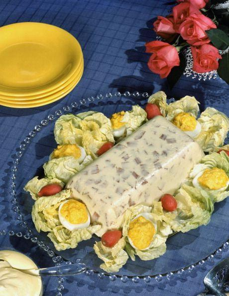 <p>You wouldn't even think about skipping this gelatin creation at your summer BBQ. Bonus points if fish was mixed in, like in this Jell-O loaf. </p>