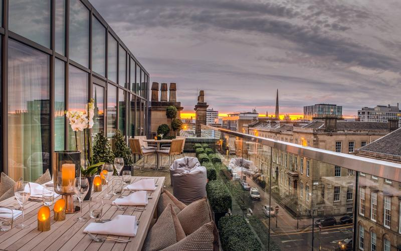 There are few – if any – hotels in Glasgow that match The Principal Blythswood Square