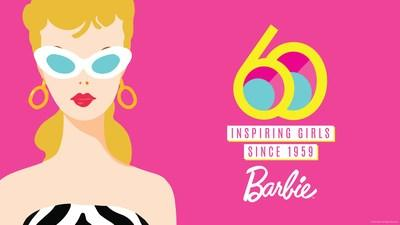 Today, Mattel kicks off worldwide celebrations to mark the 60th anniversary of Barbie, the number one fashion doll in the world designed to inspire the limitless potential in every girl. (CNW Group/Mattel Canada, Inc.)