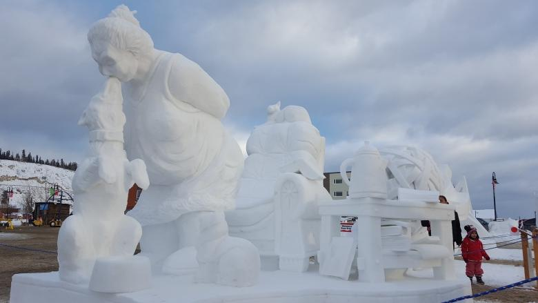 Wanted: New organizer for Whitehorse's famed snow carving competition
