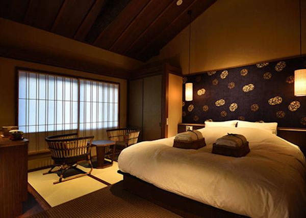 ▲Ruri Twin Bedroom. 2 persons, 23,000 yen each plus tax on weekdays, 2 meals included.