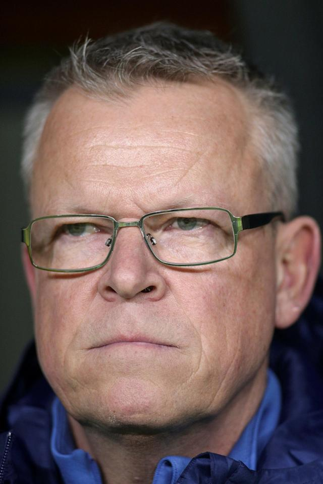 Soccer Football - International Friendly - Romania vs Sweden - National Arena, Craiova, Romania - March 27, 2018 Sweden coach Janne Andersson Inquam Photos/Octav Ganea via REUTERS ROMANIA OUT. NO COMMERCIAL OR EDITORIAL SALES IN ROMANIA THIS IMAGE HAS BEEN SUPPLIED BY A THIRD PARTY. IT IS DISTRIBUTED, EXACTLY AS RECEIVED BY REUTERS, AS A SERVICE TO CLIENTS