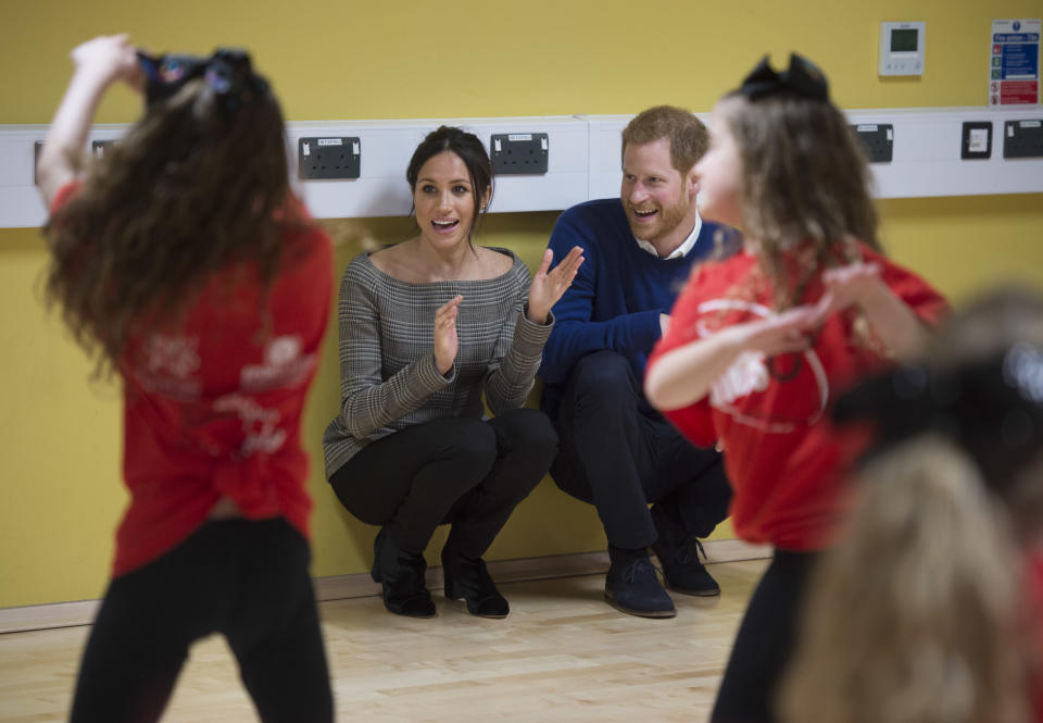 """<p>Street Games is a charity aimed at helping struggling local communities by providing them with sports initiatives. Currently, it helps over 900 disadvantaged communities in the UK. <br>Harry and Meghan visited one of the charities projects in Cardiff this year. <br>You can donate at <a rel=""""nofollow noopener"""" href=""""https://www.streetgames.org/"""" target=""""_blank"""" data-ylk=""""slk:StreetGames.org"""" class=""""link rapid-noclick-resp"""">StreetGames.org</a>.<br><em>Photo: Getty</em> </p>"""