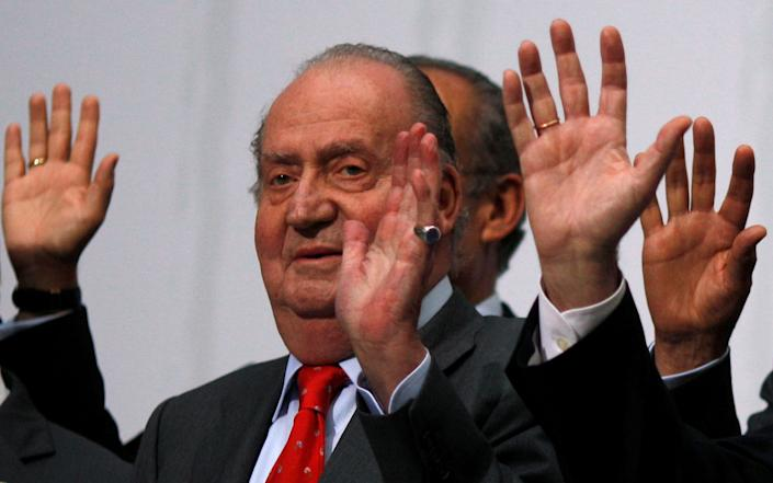 The former king Juan Carlos has been embroiled in a series of financial scandals - Jon Nazca/Reuters