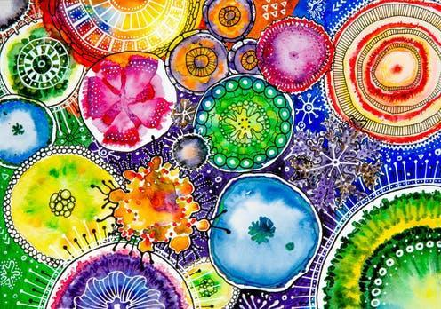 """<span class=""""attribution""""><a class=""""link rapid-noclick-resp"""" href=""""https://www.shutterstock.com/image-illustration/watercolor-painted-bacteria-moulds-backgound-753519763"""" rel=""""nofollow noopener"""" target=""""_blank"""" data-ylk=""""slk:Olis Design/Shutterstock"""">Olis Design/Shutterstock</a></span>"""