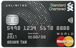 Standard Chartered Unlimited Master Card