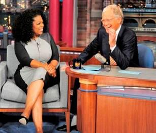 Oprah Winfrey Shares Her Secret Mantra on 'The Late Show with David Letterman' (Video)