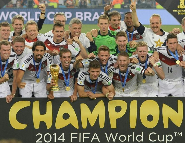 The Asian Football Confederation was given just four guaranteed places at the 2014 World Cup, which was won by Germany