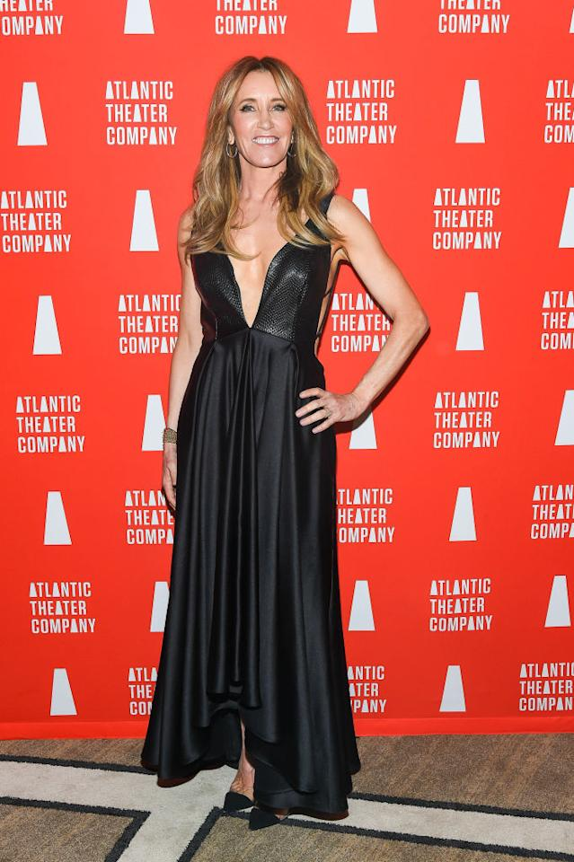 <p>Felicity Huffman<br /> sul red carpet di un recente gala a New York.<br /> (Credit: Getty Images) </p>