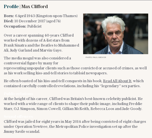 In brief | Max Clifford