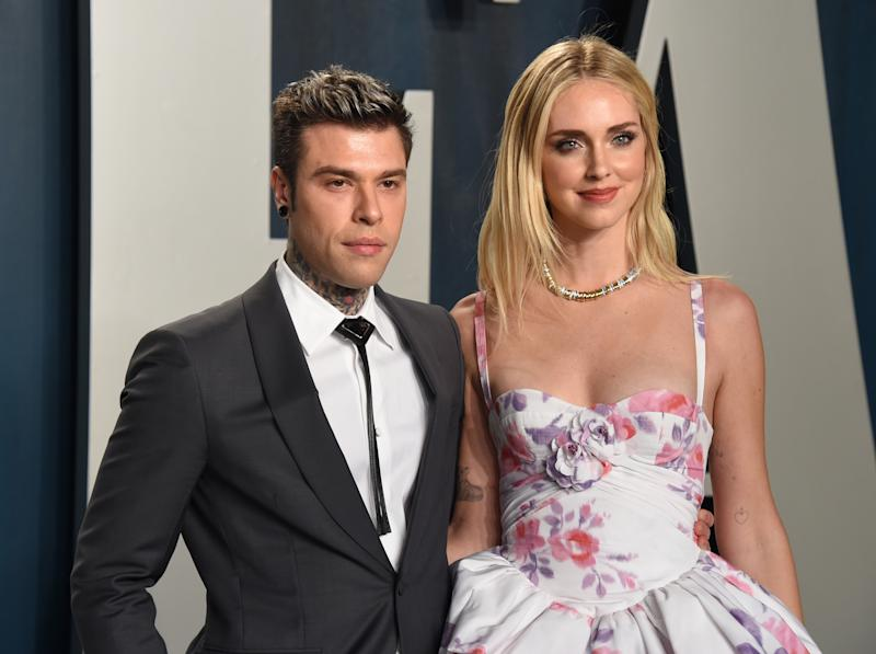 Fedez e Chiara Ferragni (Photo by John Shearer/Getty Images)