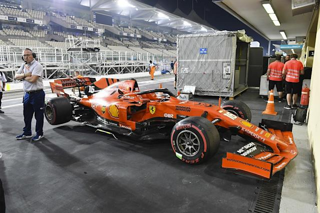 The FIA checks at centre of the Ferrari controversy
