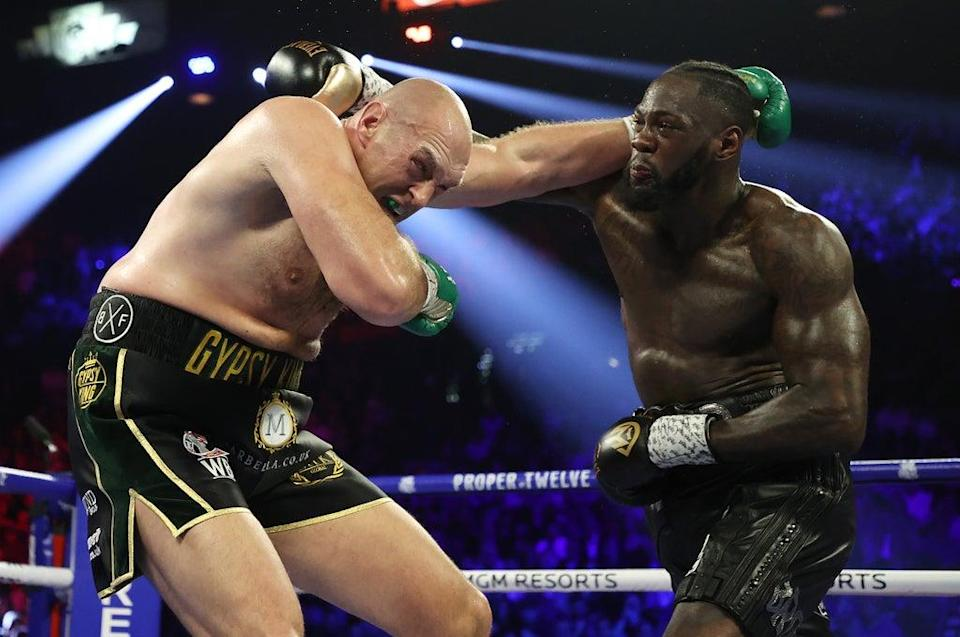 Wilder's third fight against Fury was postponed as the Briton said he had tested positive for Covid (Getty Images)