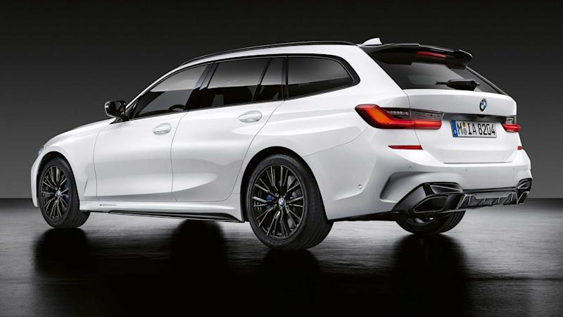 2020 BMW 3 Series Touring with M Performance parts