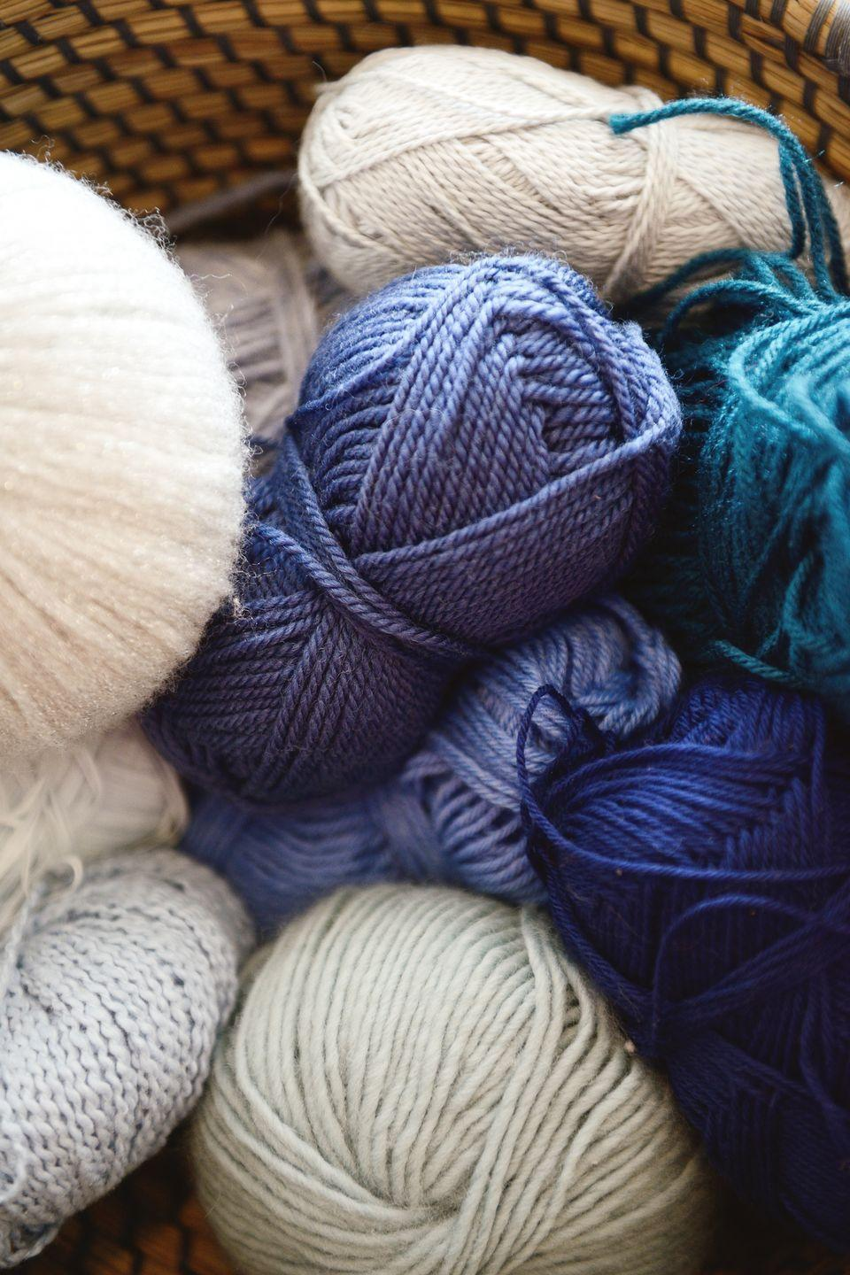 "<p>You heard that knitting can be great for de-stressing, so you threw yourself into it, but haven't touched your supplies in months. Either you knit, or you don't. If you're leaning toward ""you don't,"" donate these excess supplies to a local senior center. </p>"