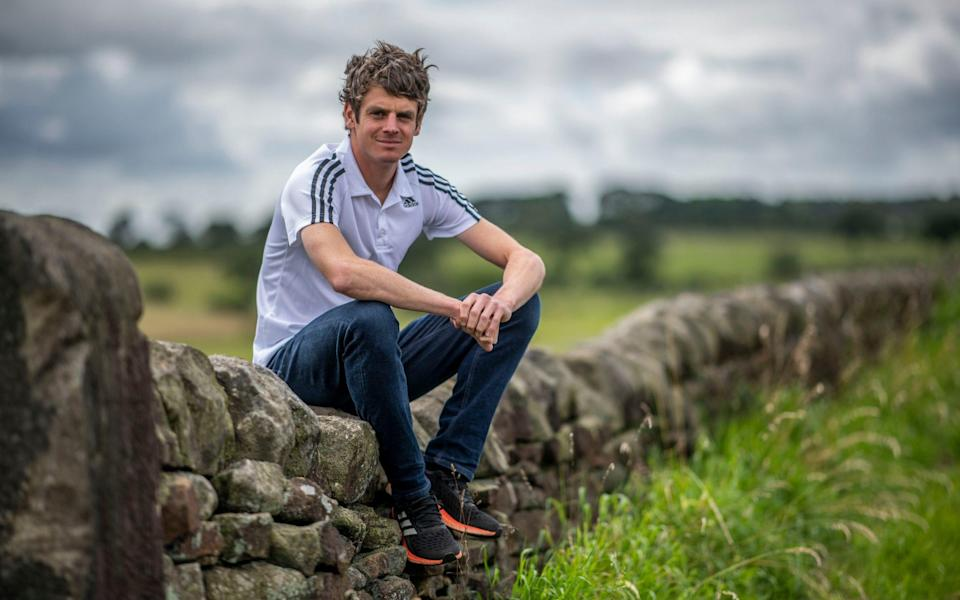 portraits of Olympic triathlete and former world champion Jonny Brownlee - PAUL GROVER