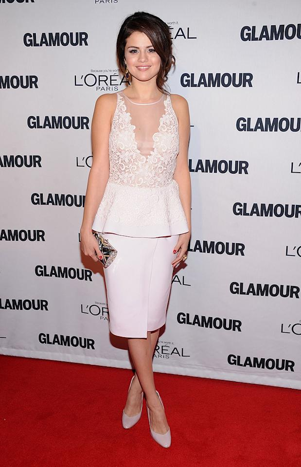 "<p class=""MsoNormal"">Selena Gomez has quite a lengthy list of accolades – aside from dating and breaking up with Justin Bieber. The 20-year-old, in Giambattista Valli,was brought to tears as she accepted her award as Glamour Woman of the Year for her contributions to music, television, fashion and her work as the youngest ambassador for UNICEF. Aww. (11/12/12)</p>"