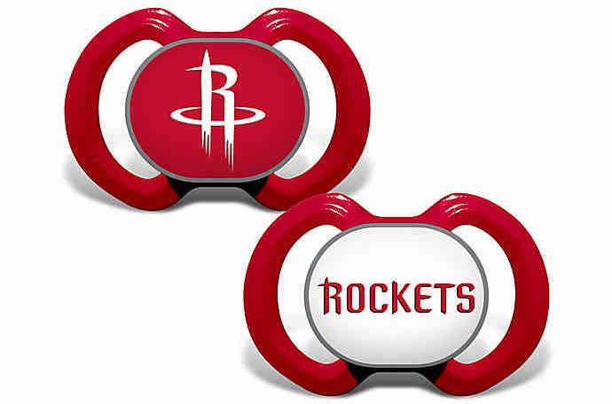 A pacifier designed specifically for the whiniest team in the league. (NBA Fanatic)
