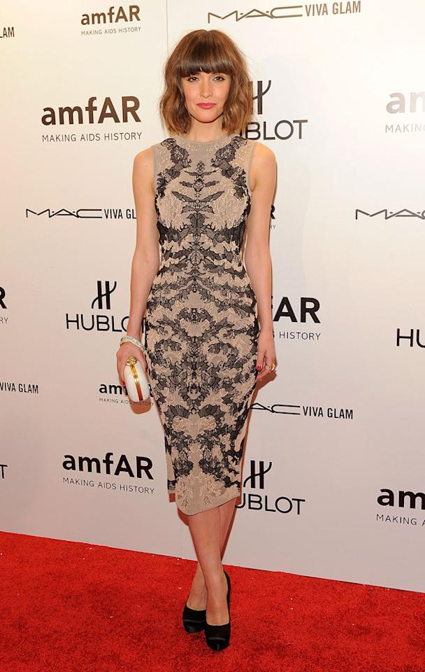 One word for you Rose Byrne: gorgeous.