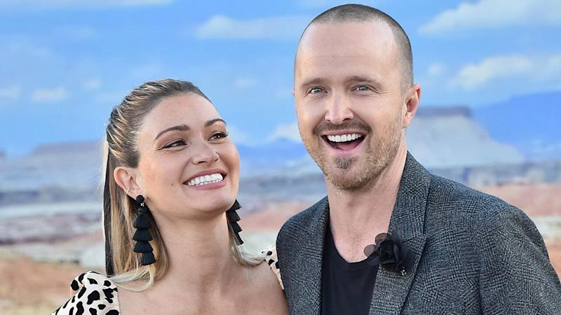 Aaron Paul Talks Having More Kids With Wife Lauren (Exclusive)