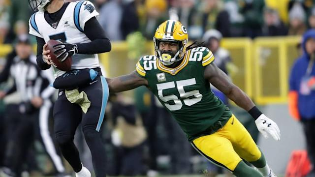 Packers tally 14 pressures from OLB Za'Darius Smith vs. Panthers