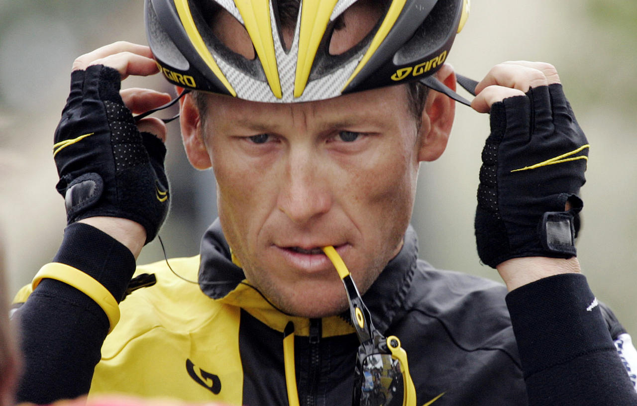 "FILE - In this Feb. 22, 2009 file photo, Lance Armstrong prepares for the final stage of the Tour of California cycling race in Rancho Bernardo, Calif. The U.S. Anti-Doping Agency is bringing doping charges against the seven-time Tour de France winner, questioning how he achieved those famous cycling victories. Armstrong, who retired from cycling last year, could face a lifetime ban from the sport if he is found to have used performance-enhancing drugs. He maintained his innocence, saying: ""I have never doped."" (AP Photo/Marcio Jose Sanchez, File)"