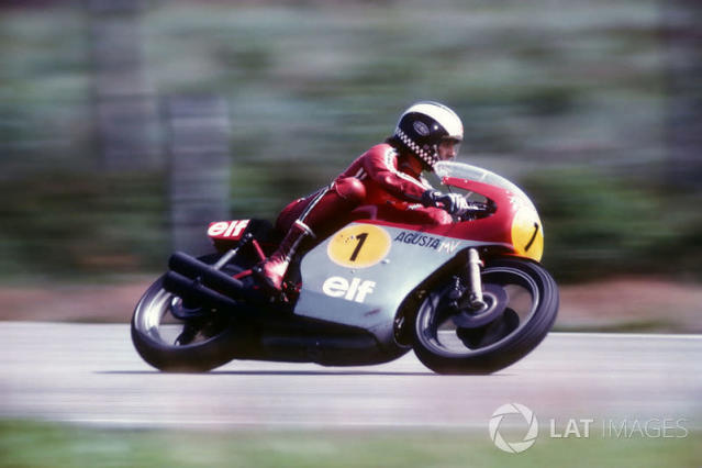 "1974 - Phil Read, MV Agusta <span class=""copyright"">Gold and Goose / Motorsport Images</span>"