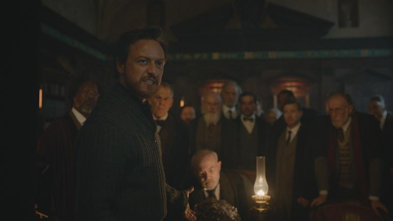 Lord Asriel (JAMES McAVOY) in His Dark Materials.