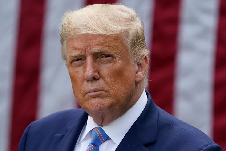 The New York Times revealed two decades of President Donald Trump's tax returns Sunday, documents the president has tried to keep shielded from public view throughout his time in office. (Photo: (AP Photo/Evan Vucci))