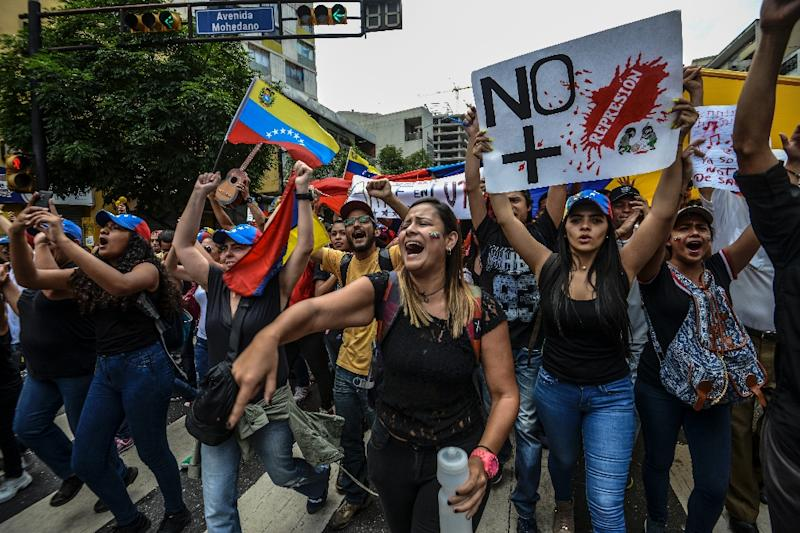 Deadly unrest grips Venezuela as students rally
