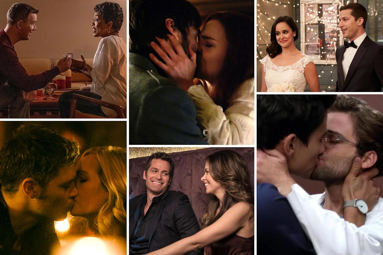 From first kisses to final farewells, here are the shipper moments we won't forget from the past year in TV.