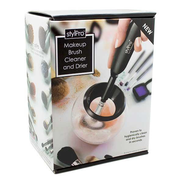 "<p>Applying makeup daily exposes your tools to bacteria that grows over time. Washing makeup brushes is normally a lengthy chore that takes ages so try the new Stylpro Cleaner instead. It dries your brushes in seconds, instead of hours. <a rel=""nofollow"" href=""http://www.feelunique.com/p/StylPro-Makeup-Brush-Cleaner-and-Dryer"">Buy here</a> </p>"