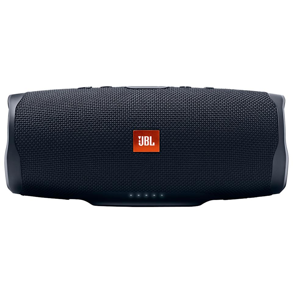 JBL Charge 4 Waterproof Bluetooth Wireless Speaker. Image via Best Buy.