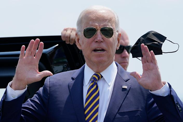 President Joe Biden's stimulus efforts haven't delivered as much growth as economists expected (Copyright 2021 The Associated Press. All rights reserved.)