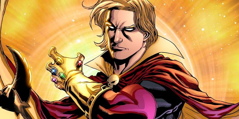 Adam Warlock, sporting a rather eye-catching glove... (credit: Marvel Comics)