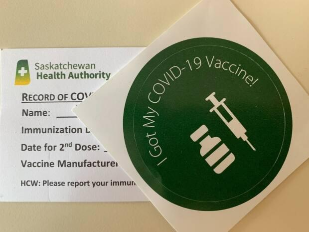 On Tuesday, 1,997 people received their first COVID-19 vaccination, according to the government's dashboard. (Theresa Kliem/CBC - image credit)