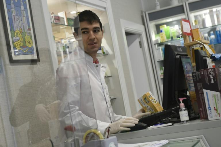 Toni Dovale has returned from playing in Thailand and is working in his family's pharmacy pharmacy in La Coruna, northwestern Spain