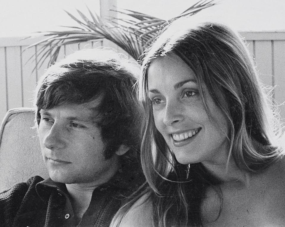 <p>The actress and later-disgraced husband Roman Polanski relaxed at the McGraths' in 1968, 18 months before Tate's murder.</p>
